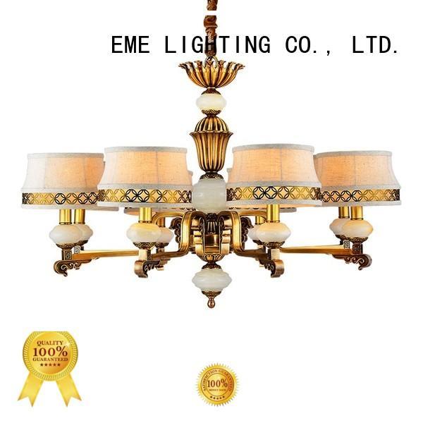 EME LIGHTING concise copper lights European for big lobby
