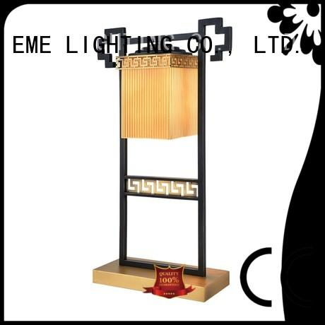 chinese style table lamp metal for restaurant EME LIGHTING