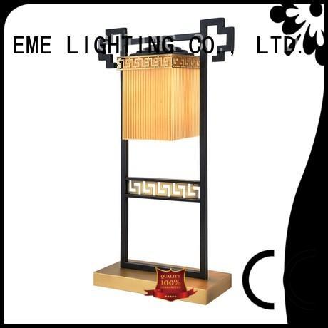 chinese style table lamp metal for restaurant EME LIGHTING