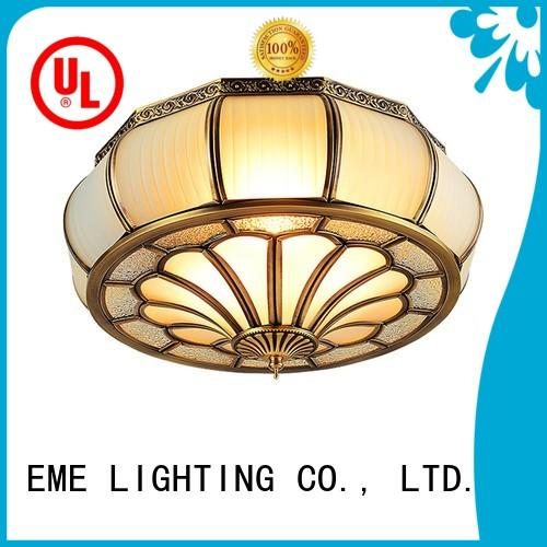 high-endbrass ceiling lights classic round for home