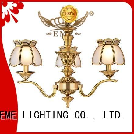 EME LIGHTING glass hanging chandelier over dining table European