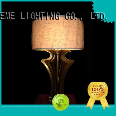 EME LIGHTING vintage chrome and glass table lamps bulk production for study