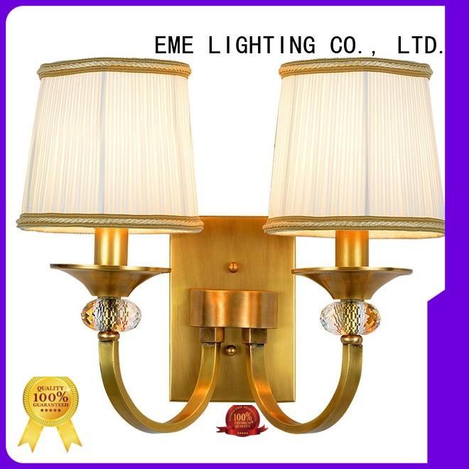 EME LIGHTING copper sconce lights ODM for restaurant