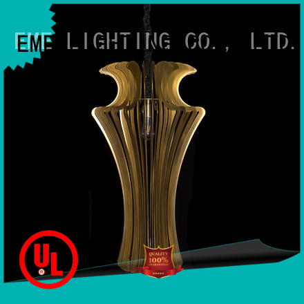EME LIGHTING top-rated copper and glass pendant light manufacturer for rest room