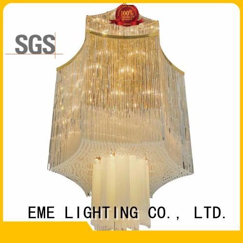 EME LIGHTING modern white crystal chandelier for lobby