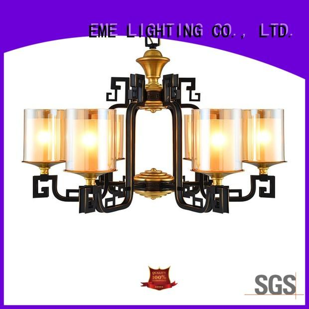 EME LIGHTING large antique brass chandeliers for sale round for big lobby