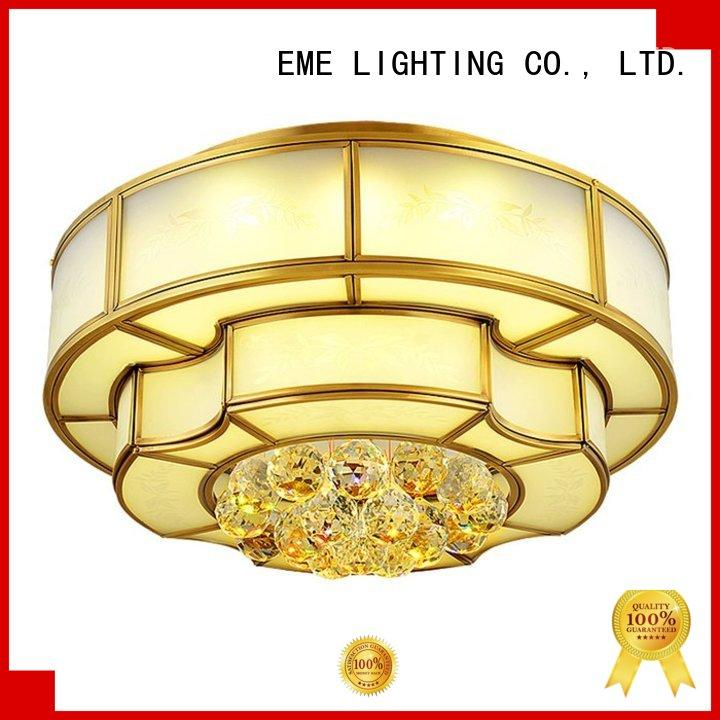 EME LIGHTING antique brass ceiling lights traditional for dining room