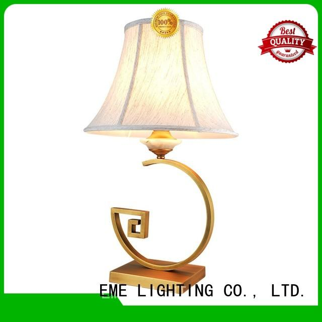 EME LIGHTING elegant decorative cordless table lamps Chinese style for hotels