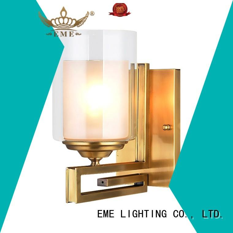 EME LIGHTING brass traditional wall sconces top brand for indoor decoration