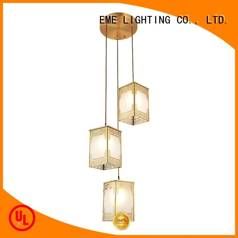 high-end hanging ceiling lights traditional for big lobby