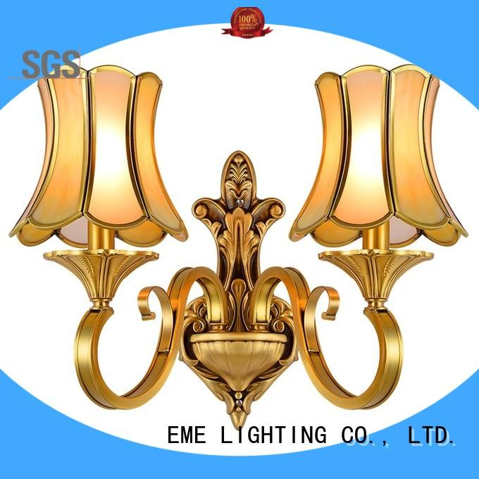 EME LIGHTING vase shape popular wall sconces copper for indoor decoration