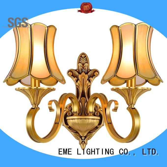EME LIGHTING vase shape popular wall sconces copper for indoor decoration