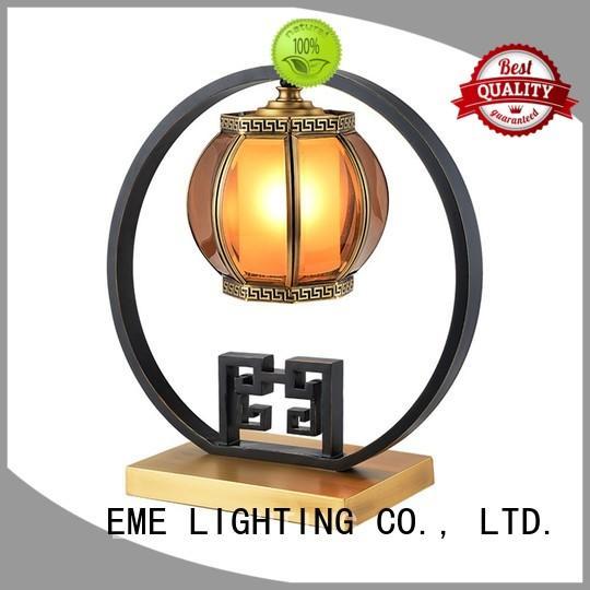 elegant oriental table lamps white for bedroom EME LIGHTING