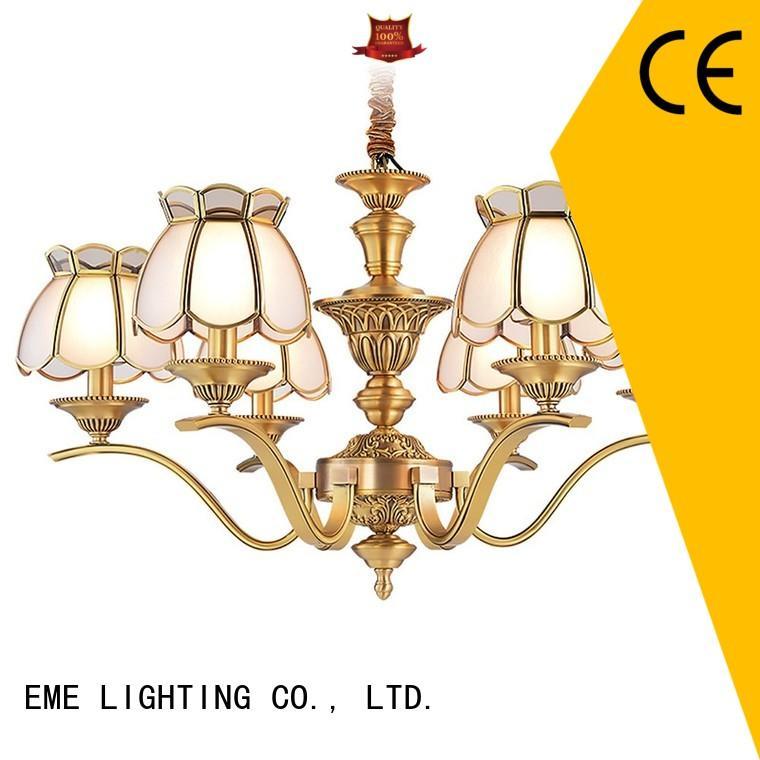 EME LIGHTING modern decorative pendant light glass hanging