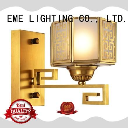 america style metal wall sconces copper for indoor decoration EME LIGHTING