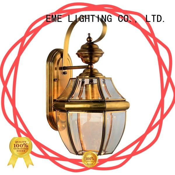 EME LIGHTING brass bedroom wall sconces america style for restaurant