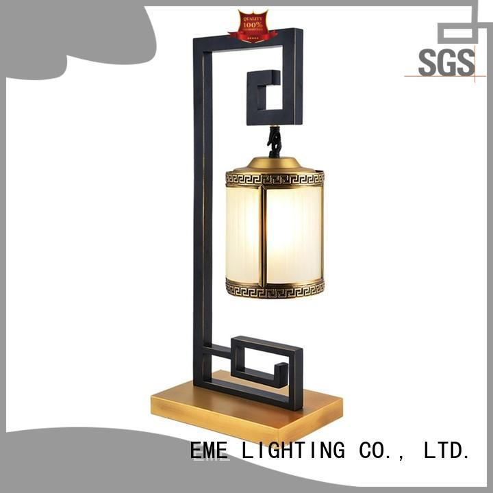 EME LIGHTING gold colored table lamp colored for bedroom