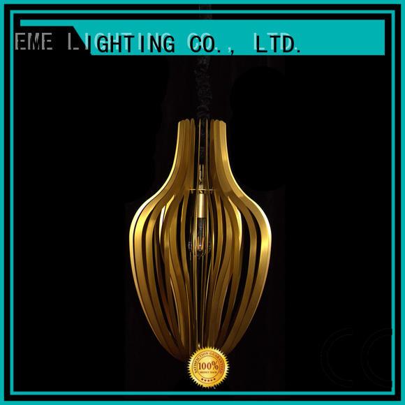 EME LIGHTING popular copper and glass pendant light for rest room