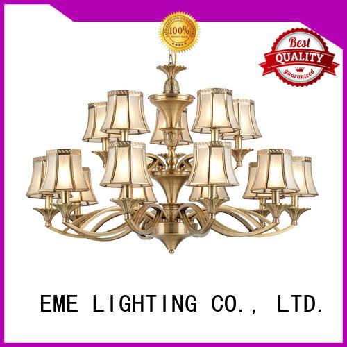 EME LIGHTING antique vintage brass chandelier European for home