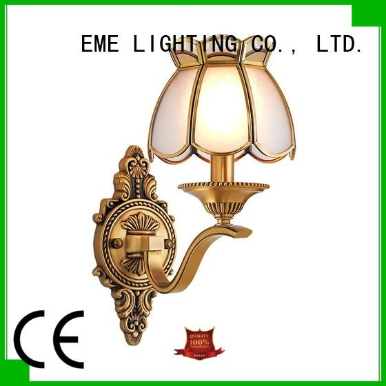 EME LIGHTING floor metal wall sconces for wholesale for restaurant