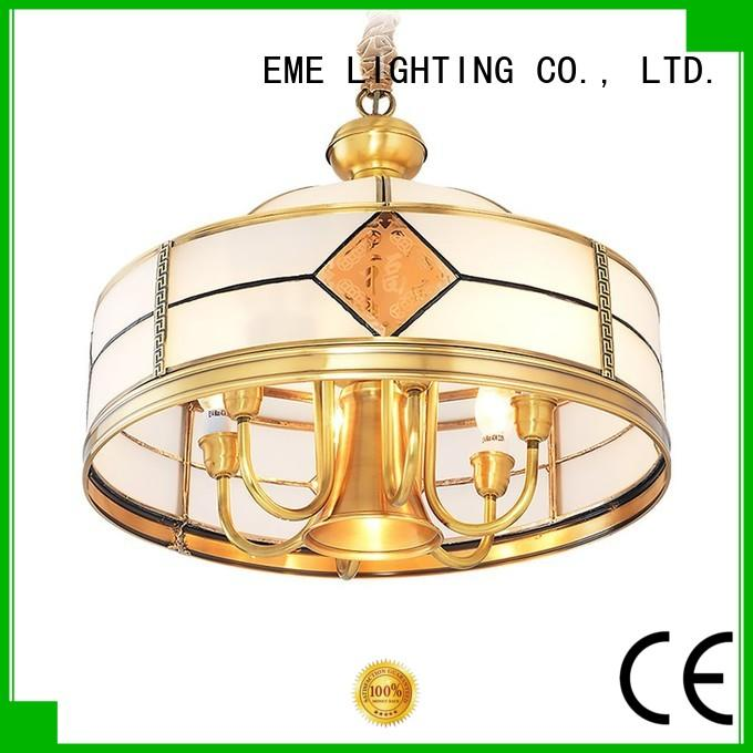 EME LIGHTING glass hanging chandelier over dining table residential for home