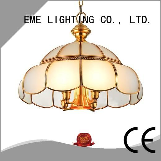 EME LIGHTING contemporary solid brass chandelier american style for home