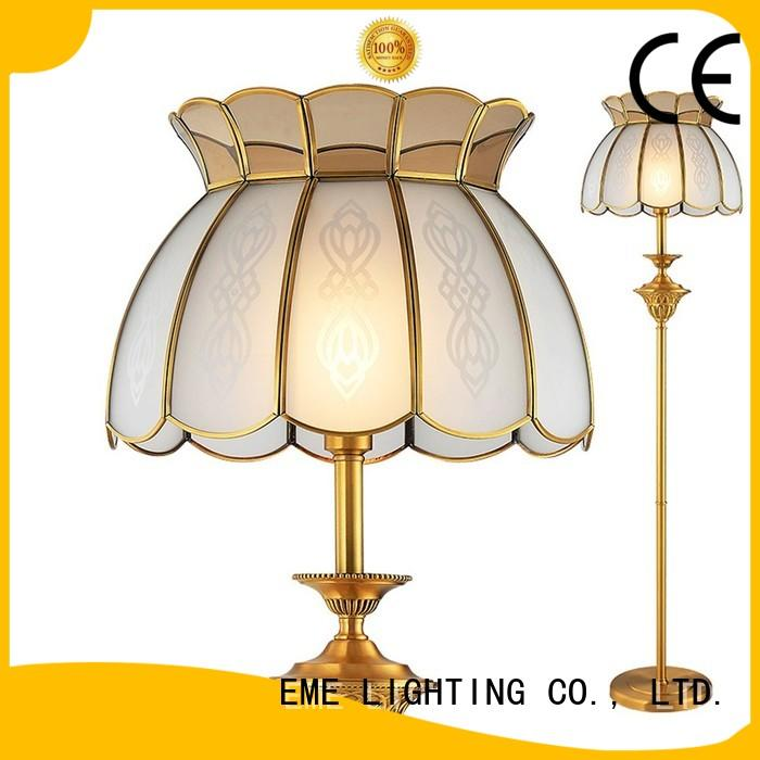 customized vintage floor lamps copper for bedroom EME LIGHTING