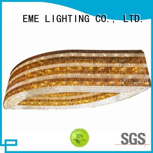 EME LIGHTING decorative acrylic crystal chandelier wholesale for dining room