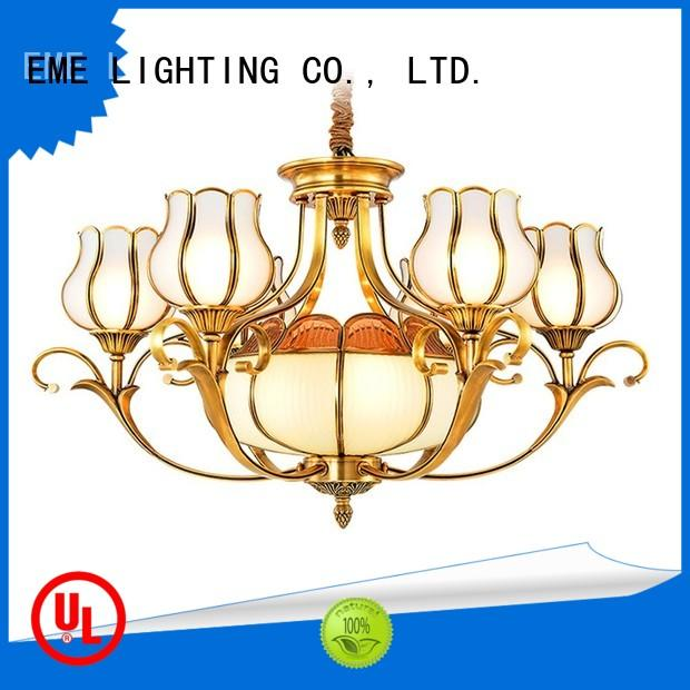 EME LIGHTING contemporary vintage brass chandelier vintage for home