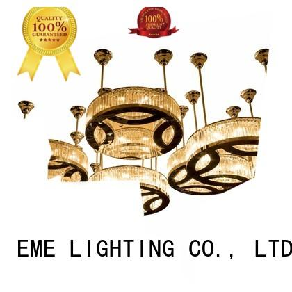 EME LIGHTING decorative large chandeliers for great rooms bulk production for lobby