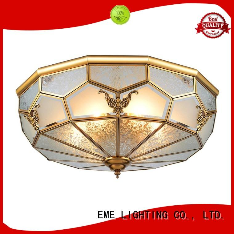antique brass ceiling lights European for dining room