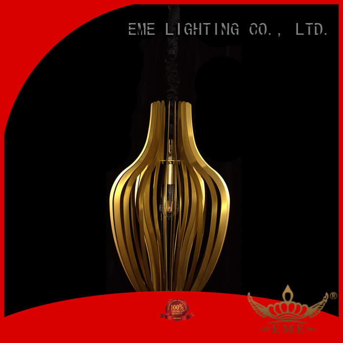 factory price copper and glass pendant light at discount for living room