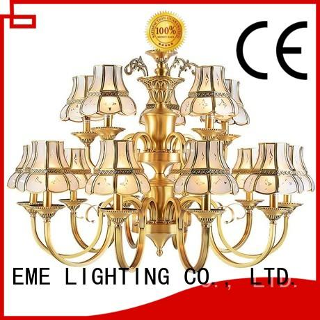 EME LIGHTING american style chandeliers wholesale round for dining room