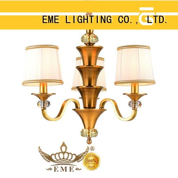 luxury solid brass chandelier american style residential for dining room