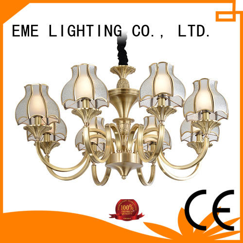 EME LIGHTING concise chandeliers wholesale European for big lobby