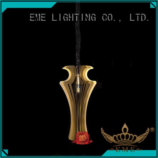 elegant copper and glass pendant light bulk production for house EME LIGHTING
