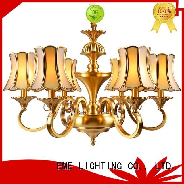 large modern hanging light round EME LIGHTING