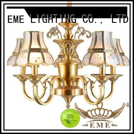 copper chandeliers wholesale traditional for home EME LIGHTING