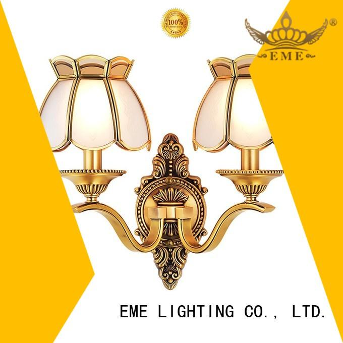 decorative gold wall lights top brand for indoor decoration