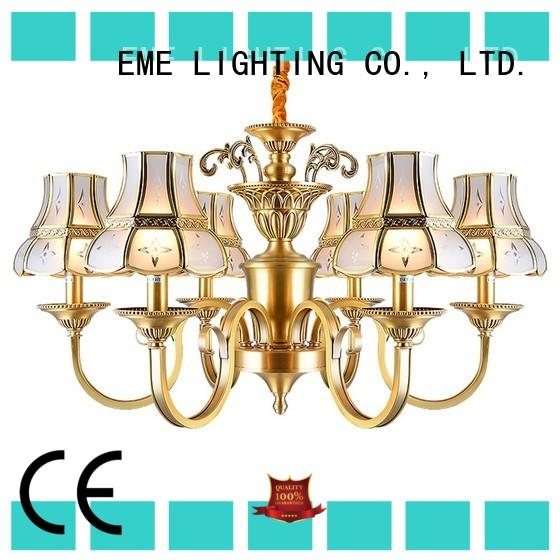 EME LIGHTING large antique copper pendant light traditional for dining room