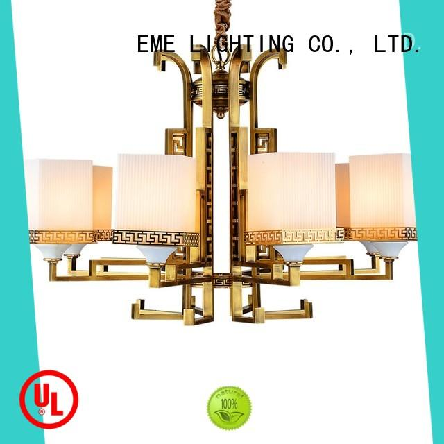 chandelier over dining table large for big lobby EME LIGHTING