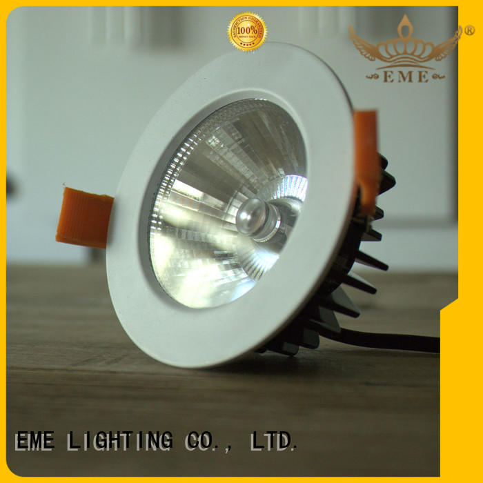mounting led down light online white for hotels EME LIGHTING