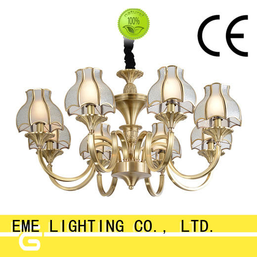 EME LIGHTING high-end classic chandelier copper