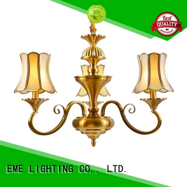 EME LIGHTING high-end antique copper pendant light traditional