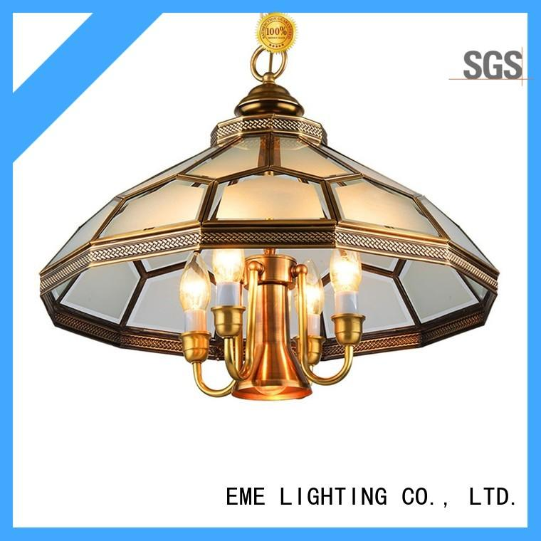 copper classic chandelier american style EME LIGHTING