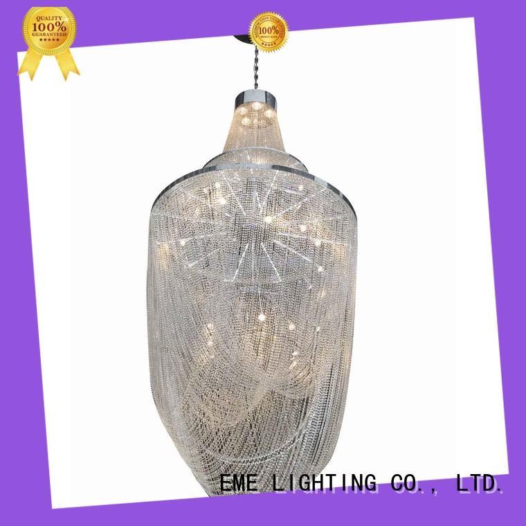 EME LIGHTING modern vintage crystal chandelier for lobby