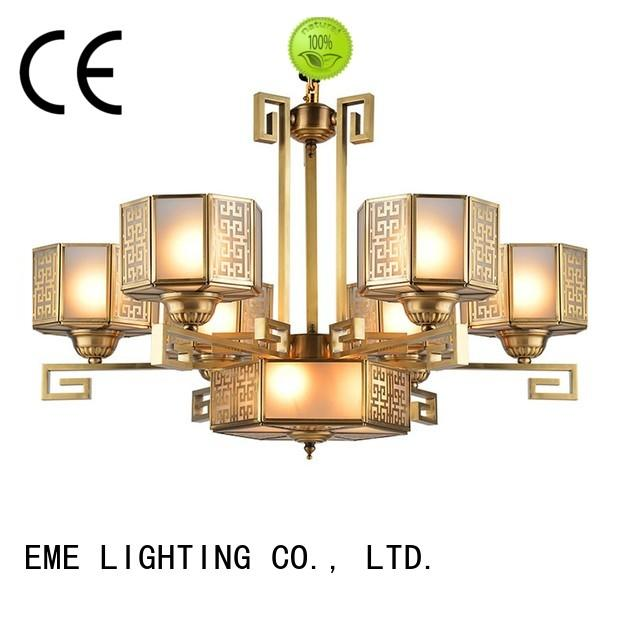 glass hanging chandelier manufacturers american style EME LIGHTING