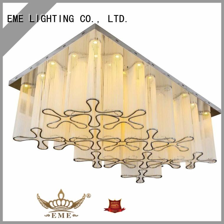 EME LIGHTING traditional acrylic crystal chandelier wholesale acrylic for dining room
