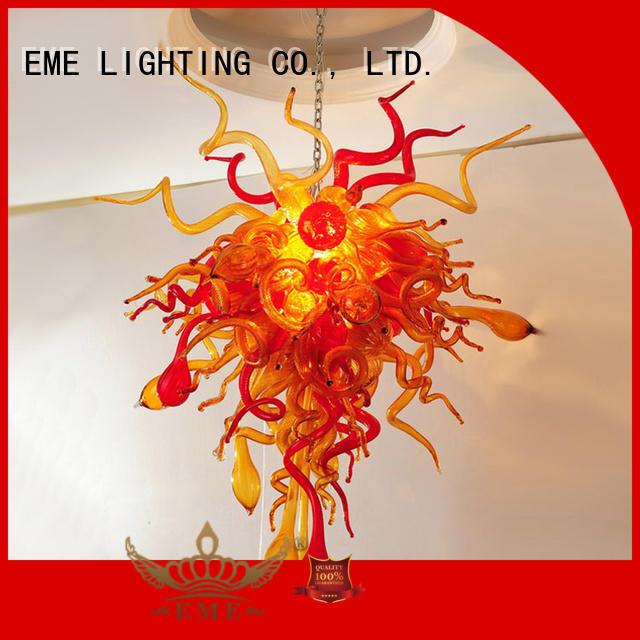 EME LIGHTING custom color chandelier modern design at discount for dining room