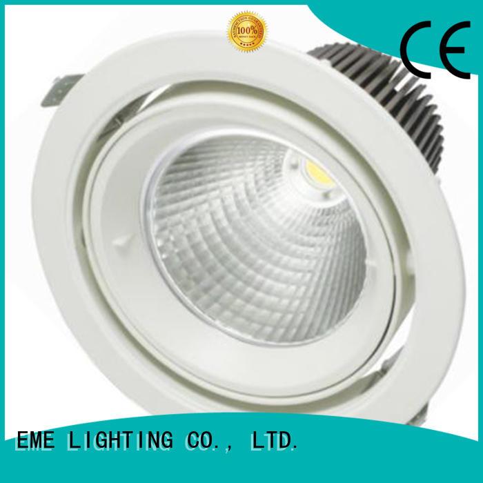 mounting ceiling down lights black for indoor lighting EME LIGHTING